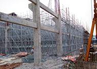 浙江铸造厂房高支模项目 使用产品:承插型盘扣式脚手架